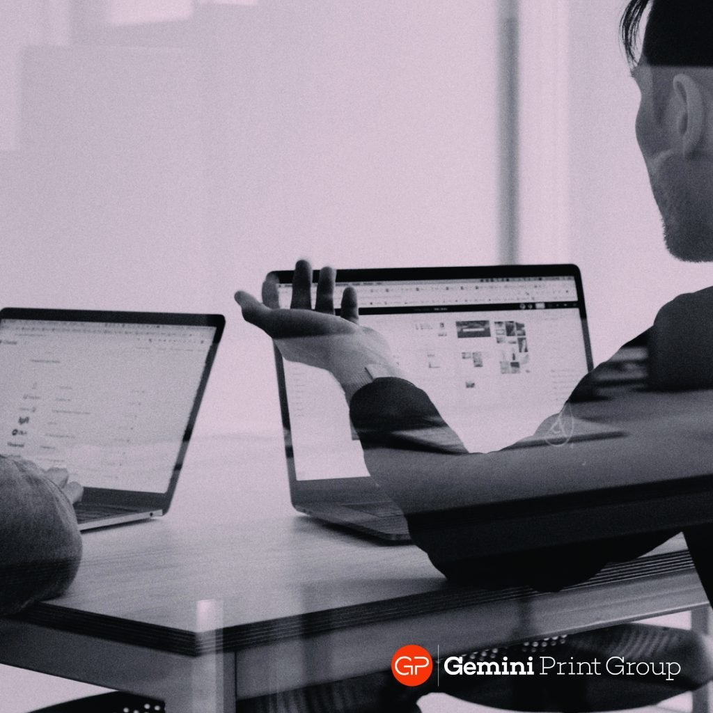 Gemini Print Rebranding Design Process